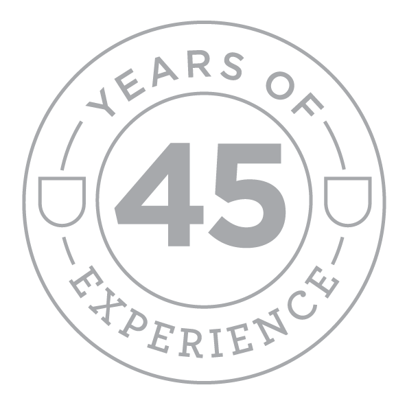 stamp 45 years of experience