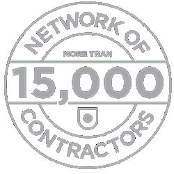 stamp network of 14,000 contractors