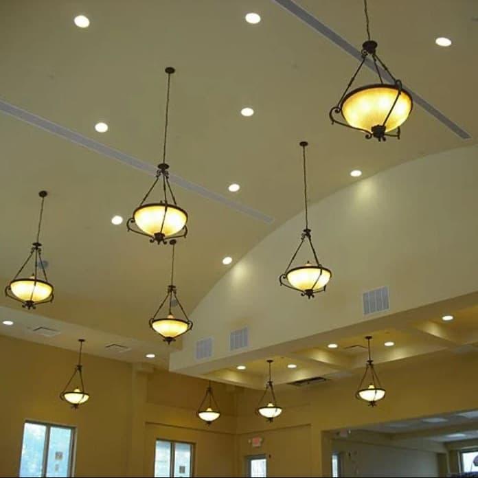 incandescent lights